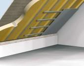 Termoizolatie interioara a acoperisului, intre capriori, cu Elastopor H - Acoperis inclinat / Acoperis plan