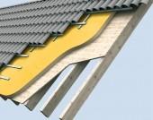 Termoizolatie exterioara a acoperisului, pe capriori, cu Elastopor H - Acoperis inclinat / Acoperis plan