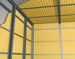 Termoizolare interioara a grajdurilor si constructiilor agricole cu Elastopor H - Planseu sub acoperis Pardoseala Plafonul