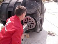 Pregatirea caminului - Instructiuni montaj Camine PE DN1000
