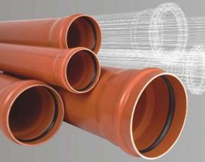 Tevi PVC multistrat - Tevi si fitinguri PVC pentru canalizari exterioare