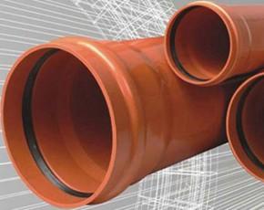 Tevi PVC compact - Tevi si fitinguri PVC pentru canalizari exterioare
