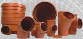 Fitinguri PVC pentru canalizari exterioare - Tevi si fitinguri PVC pentru canalizari exterioare