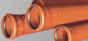 Tevi si tuburi gofrate pentru tuburi de drenaj - Tevi si fitinguri PVC pentru canalizari exterioare