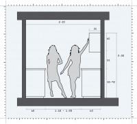Inaltimile la care trebuie pozitionate dulapurile si inaltimea blatului de lucru - Principii ergonomice