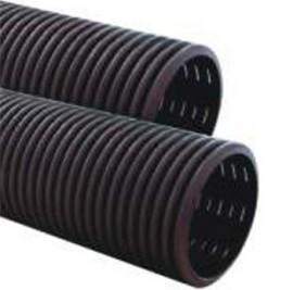 Tub flexibil drenaj pe perete dublu cu fante de 135º, 225º si 360º - Sisteme de drenaj