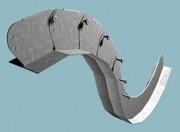 Profile speciale pentru tavane - gipscarton - T plan - Profile speciale pentru tavane - gipscarton T plan