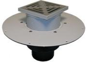 Receptor de acoperis cu guler din PVC pentru acoperis circulabil - Guri de scurgere pentru terase si balcoane