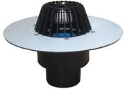 Receptor de acoperis cu guler din PVC pentru acoperis necirculabil - Guri de scurgere pentru terase si balcoane