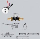 PROTRONIC- A3000 open robinet cu senzor - Baterii si robineti cu actionare electronica