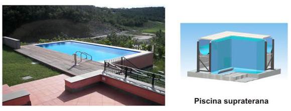 Piscina rezidentiala Bluespring - supraterana - Tipuri de piscine rezidentiale Bluespring