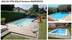 Piscina Dolce Vita Gold - Ingropata - Tipuri de piscine rezidentiale Dolce Vita