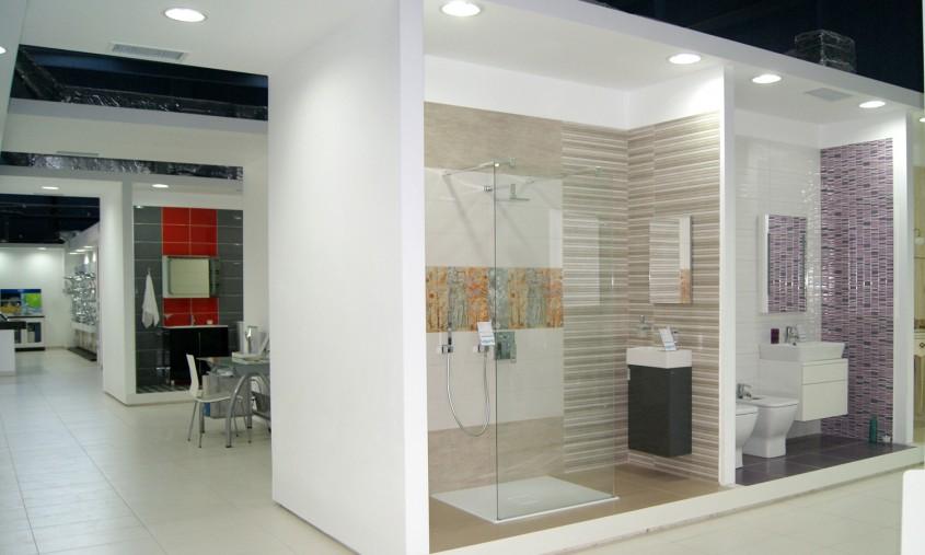 Bai de apartament - In Showroom Laguna - Zone amenajate in functie de utilizare a produselor