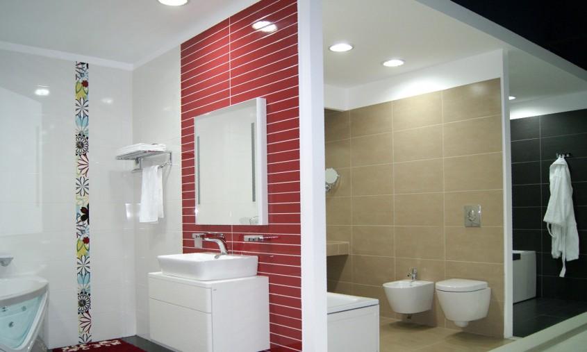 Bai rezidentiale - In Showroom Laguna - Zone amenajate in functie de utilizare a produselor pentru