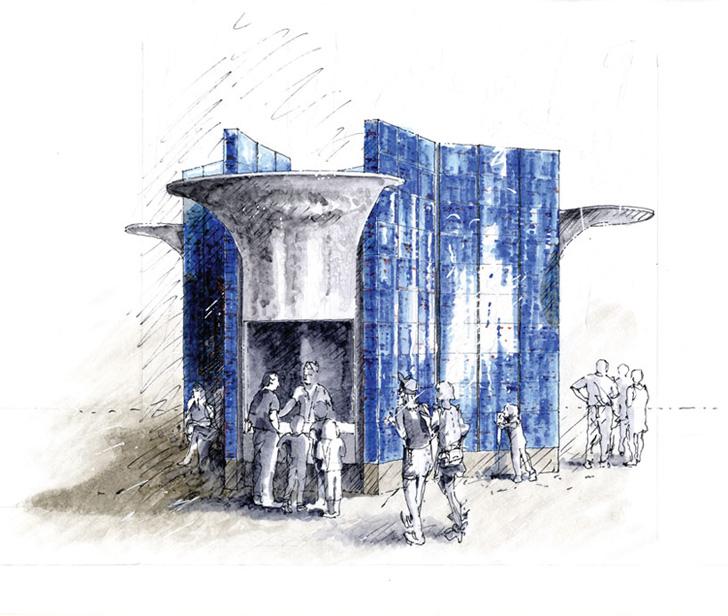 Eric Parry Architects - Zaha Hadid