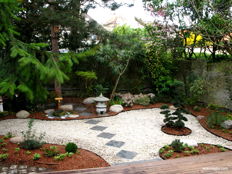 Grădina japoneză - Grădina japoneză