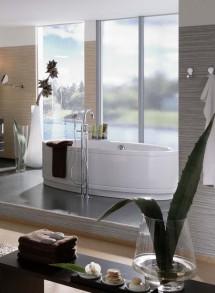 Amenajare baie cu sticla - Sticla pentru amenajarea bailor