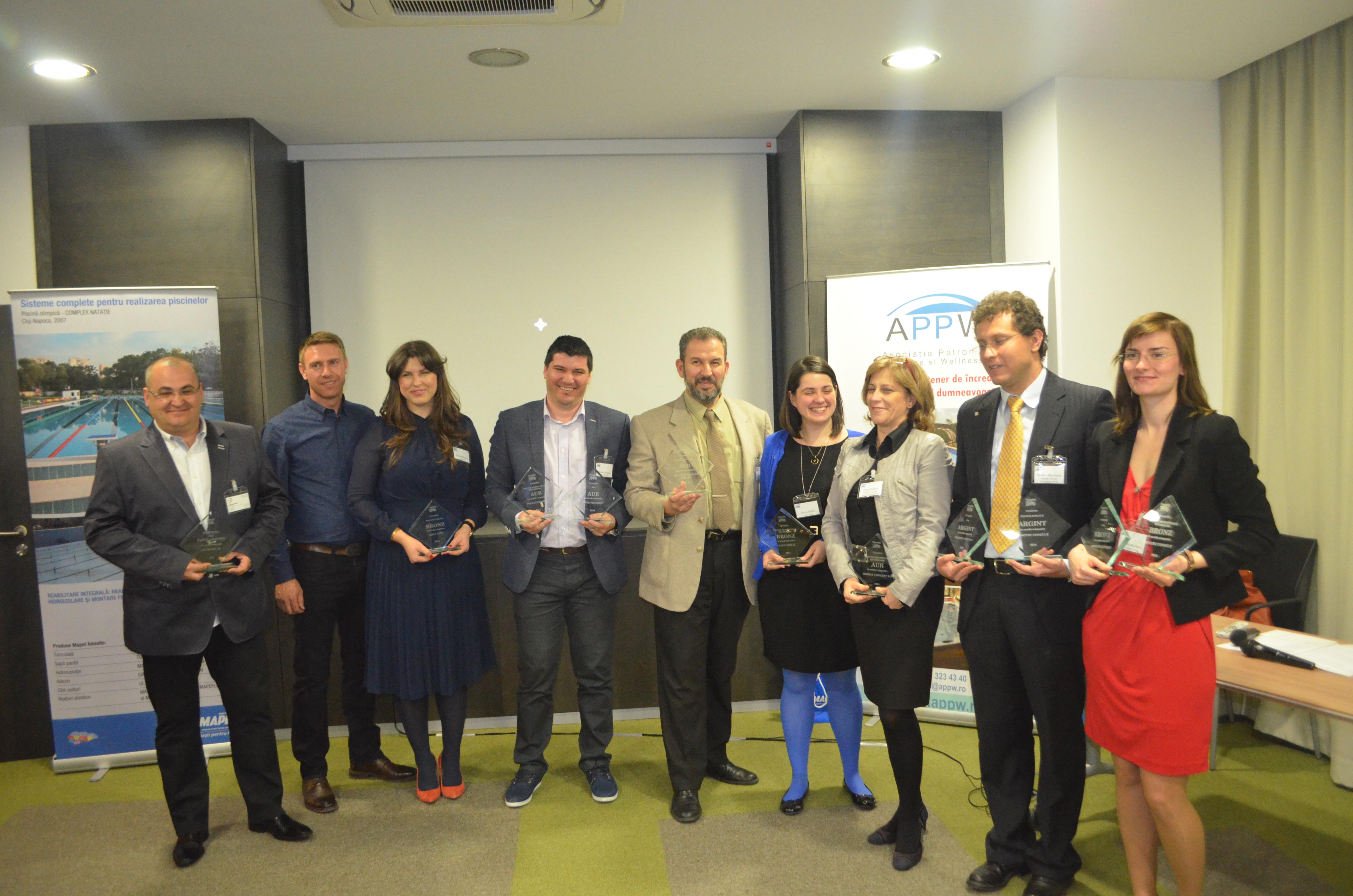 Premiile APPW 2014 - Castigatorii concursului de piscine Premiile APPW 2014