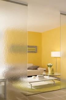 Amenajare living cu sticla DECORGLASS® - Sticla pentru amenajarea livingului