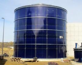 Rezervor din otel fuzionat cu sticla - Rezervoare metalice - ECO Avangard