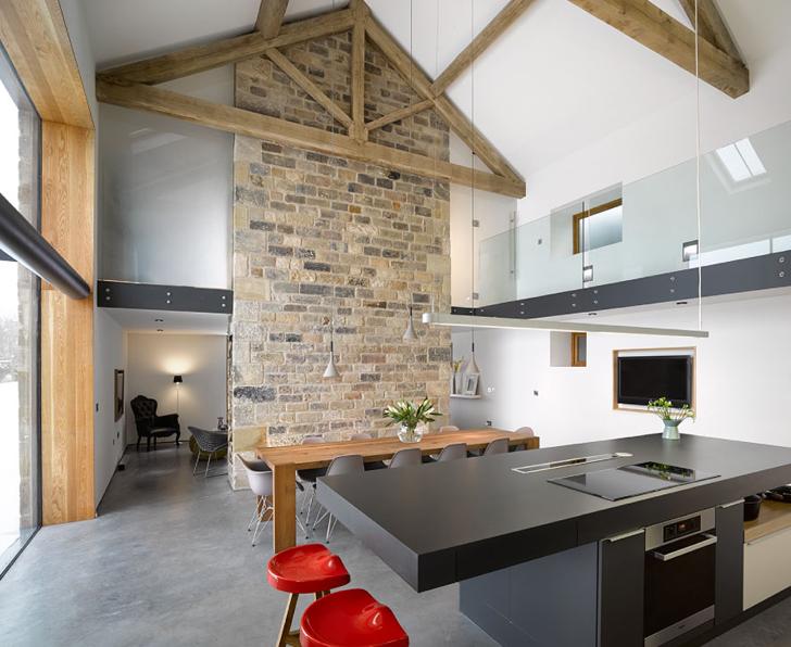 Un vechi hambar din Yorkshire, transformat in locuinta moderna - Pasarela