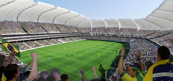 Stadionul Arena das Dunas - Stadionul Arena das Dunas