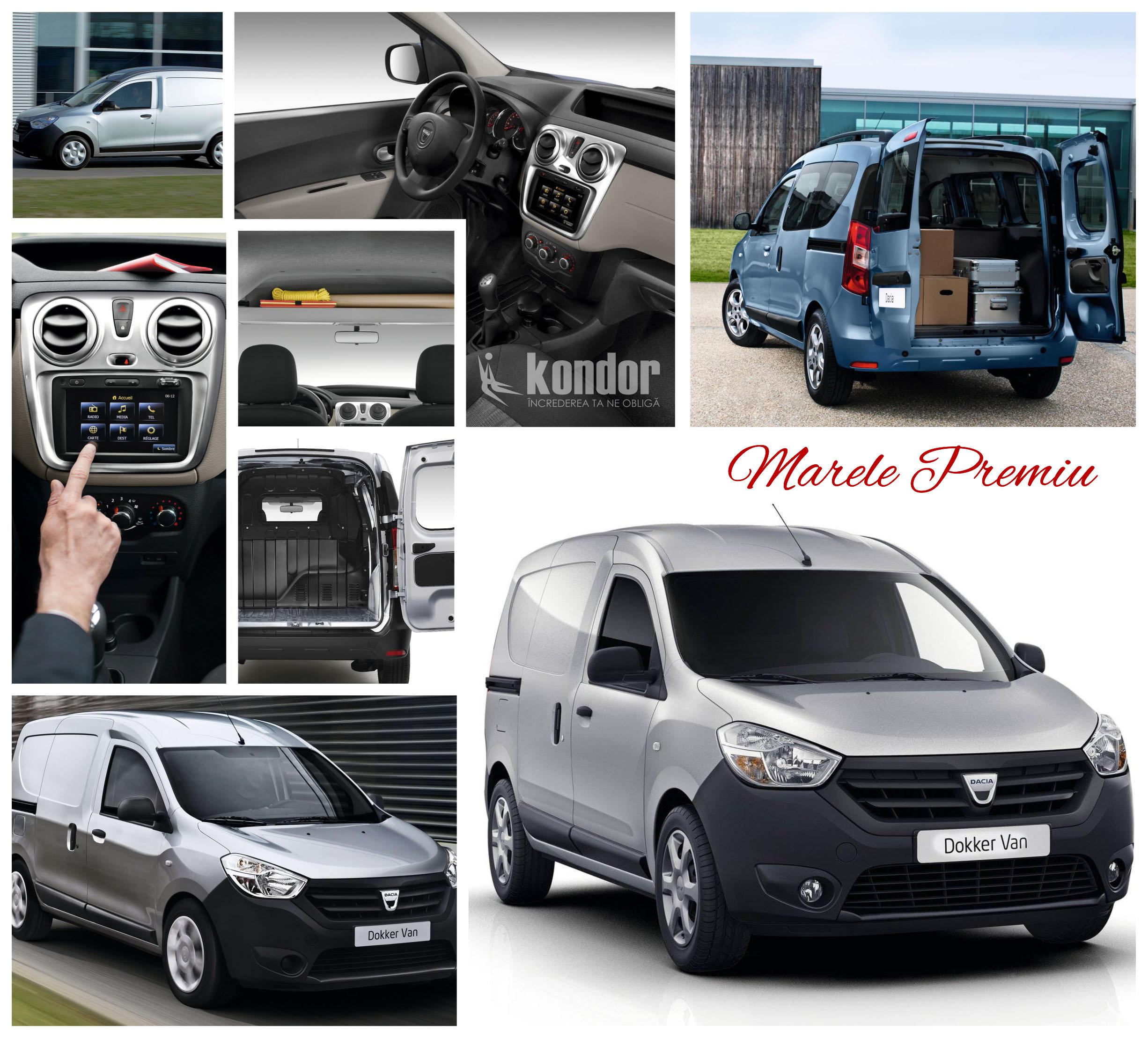 Premii Dacia Logo - Premii Kondor