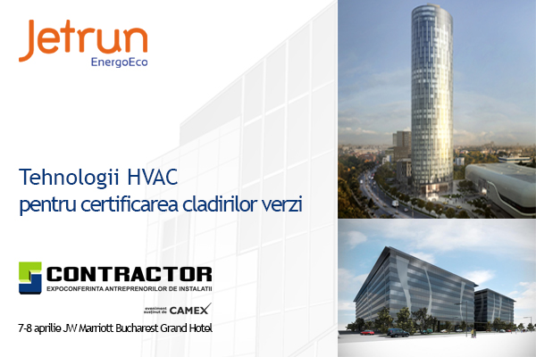 Tehnologii HVAC pentru certificarea cladirilor verzi - Tehnologii HVAC pentru certificarea cladirilor verzi