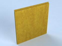 Sistem vertical de placare fatade - casete decorative KU 35 NVA - Casete decorative pentru fatade - ALCOA