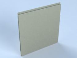 Sistem vertical de placare fatade - casete decorative KU 35 VA - Casete decorative pentru fatade - ALCOA