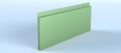 Profil casetat pentru fatade ventilate, cu montaj reglabil si prinderi ascunse - Linnea™ Cassette - Placari pentru fatade ventilate din otel sau tabla din aluminiu - ALCOA