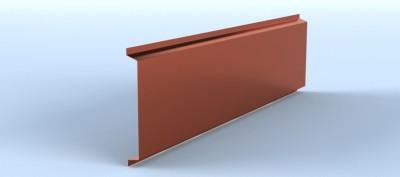 Profil lamelar pentru fatade ventilate si suprafete drepte, cu prinderi vizibile - Linnea™ Tray - Placari pentru fatade ventilate din otel sau tabla din aluminiu - ALCOA