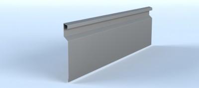Profil lamelar pentru fatade ventilate, cu montaj cuplat si prinderi ascunse - Linnea™ Click - Placari pentru fatade ventilate din otel sau tabla din aluminiu - ALCOA
