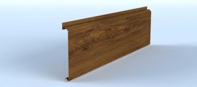 Profil lamelar pentru fatade ventilate, cu montaj reglabil si prinderi ascunse - Linnea™ Classic - Placari pentru fatade ventilate din otel sau tabla din aluminiu - ALCOA