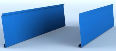Profil lamelar pentru fatade ventilate, cu suprafata vizibila inclinata - Linnea™ Slide - Placari pentru fatade ventilate din otel sau tabla din aluminiu - ALCOA