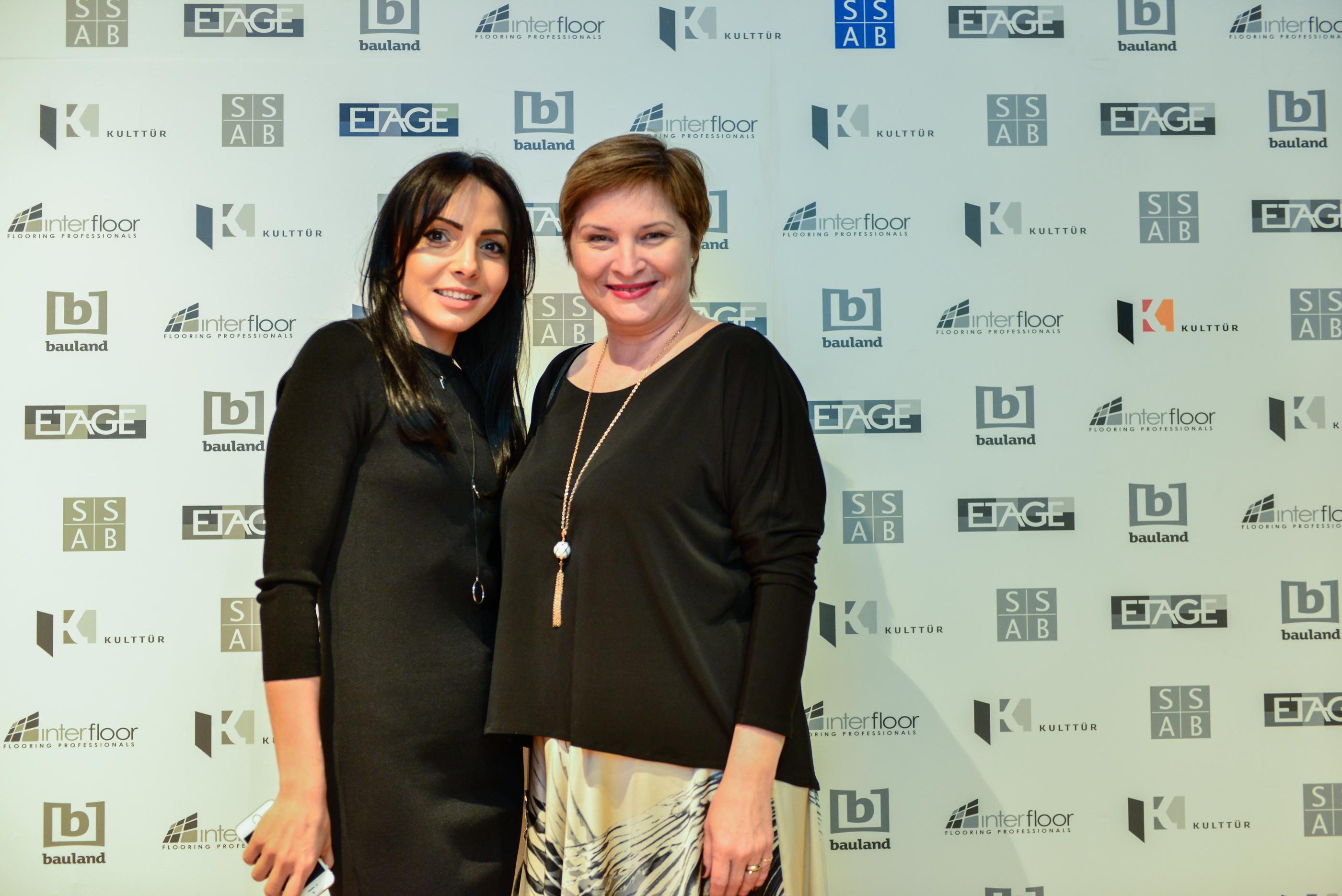 Amalia Nedelcu - Cristina Stanciulescu - S-a deschis Showroom-ul ETAGE din strada Nerva Traian, nr.5