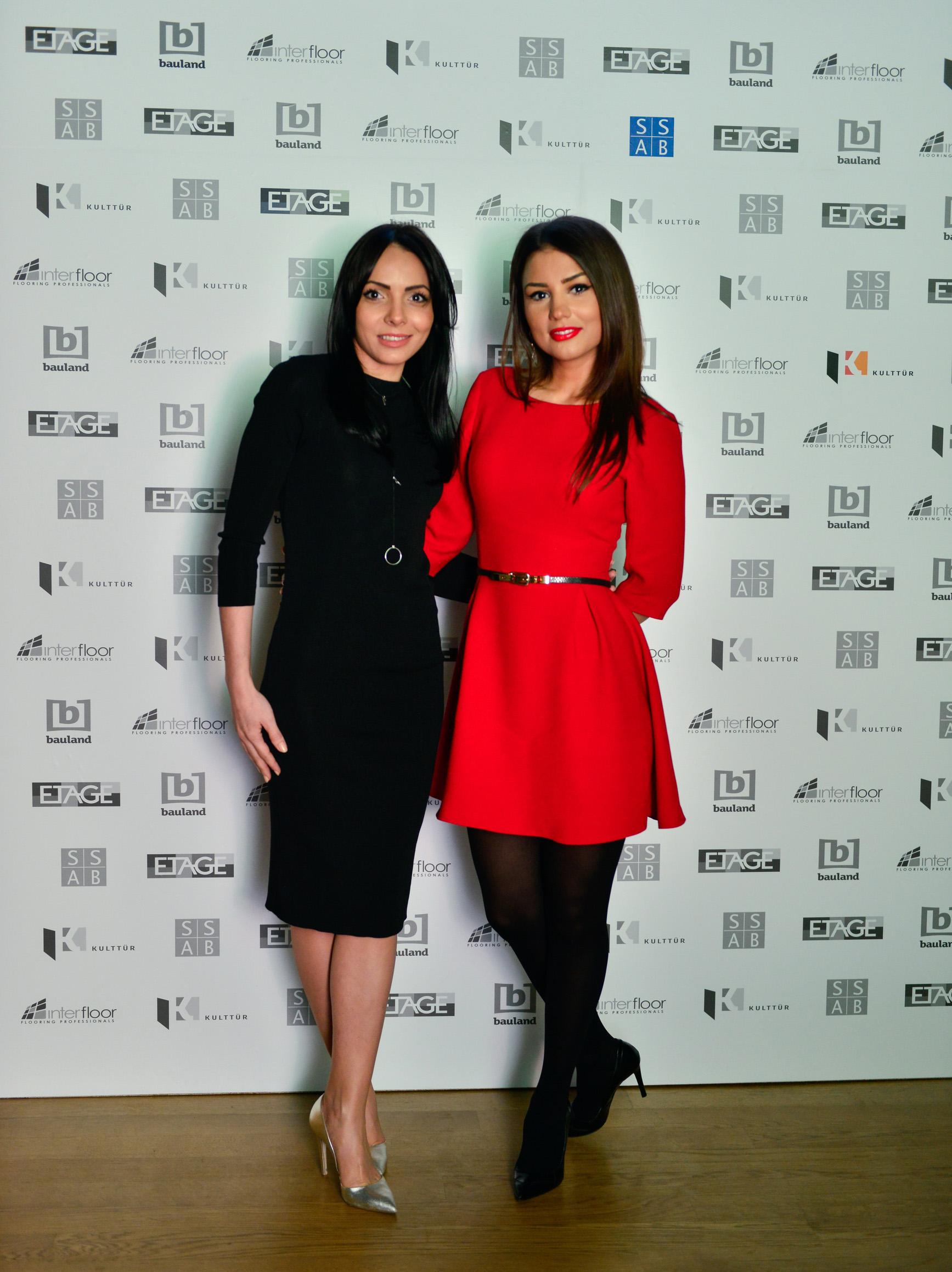 Amalia Nedelcu SSAB - Andreea Joita Antena1 - S-a deschis Showroom-ul ETAGE din strada Nerva Traian