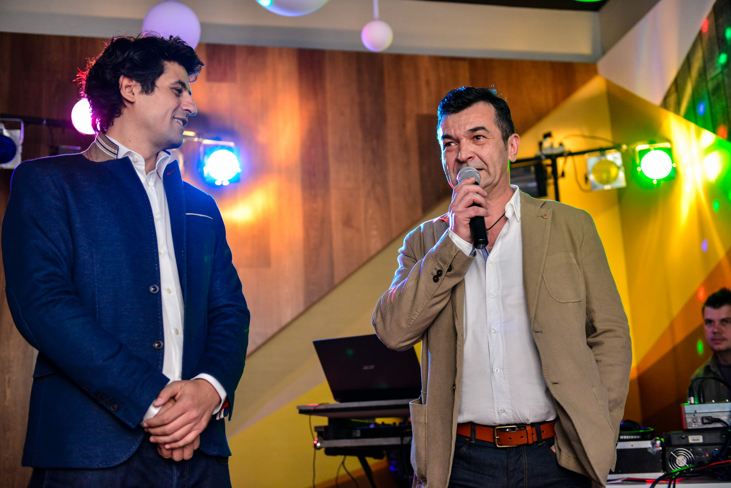 Marius Lembac BAULAND - Daniel Georgescu - S-a deschis Showroom-ul ETAGE din strada Nerva Traian nr