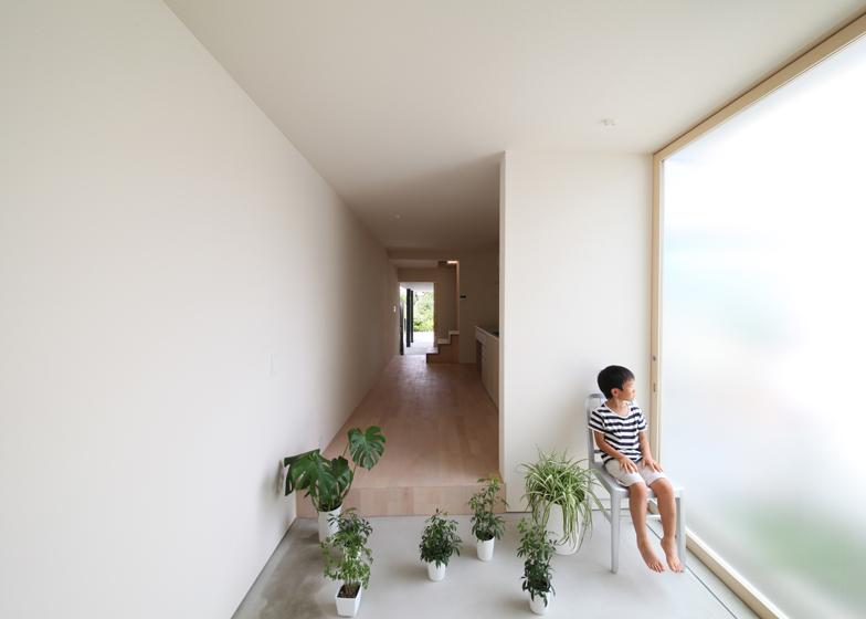 Se poate locui intr-o casa de doar trei metri latime? - Terasa