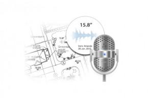 Adnotari rapide folosind vocea - ZWCAD Touch