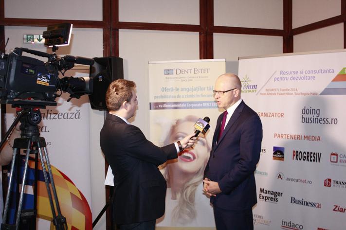 Interviu TMC Ludwik Sobolewski, Director General BVB - IMM ReStart - Resurse si consultanta pentru dezvoltare