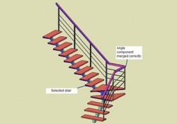 Generator pentru scari - Add-on pentru software de proiectare - ADDCAD