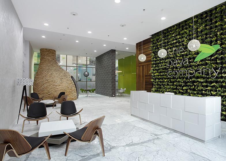 Birourile pentru Baya Park, forme si texturi neconventionale - Birouri pentru Baya Park