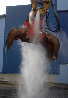 Pulverizatoare pentru praf actionate hidraulic HPW-DUST - Pulverizator pentru praf actionate hidraulic