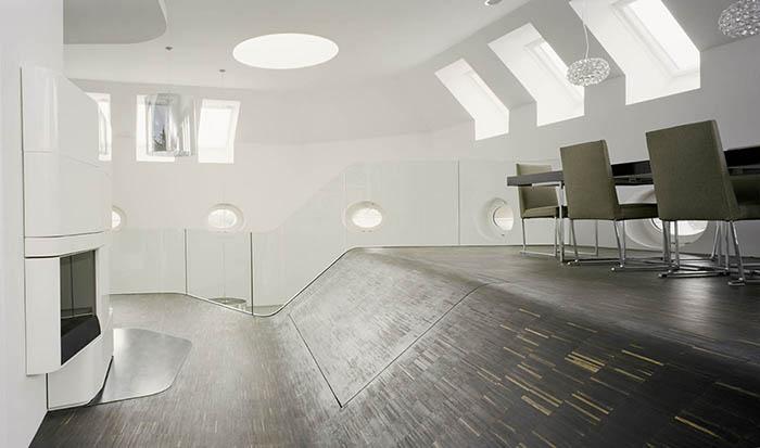 Un loft in Berlin spatios datorita mobilierului incastrat - Un loft in Berlin spatios datorita mobilierului