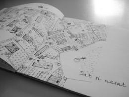 Vise despre case - Imaginatie si creativitate: din file plate, un proiect 3D si din alb-negru, la color