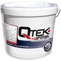 Qtek Nanotek Vopsea emulsionata lavabila pentru zugraveli exterioare - QTEK NANOTEK