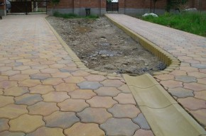 Rigola Scafa R1 - Rigola Scafa R1 din beton compact