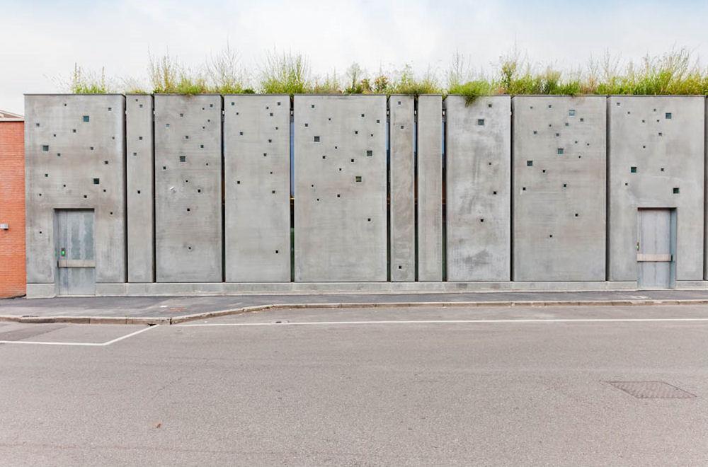 O veche fabrica din Milano tranformata cu ajutorul betonului aparent - O veche fabrica din Milano
