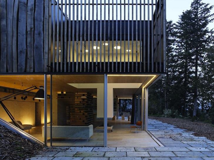 Casa de vacanta care se armonizeaza cu peisajul inconjurator - Casa de vacanta care se armonizeaza